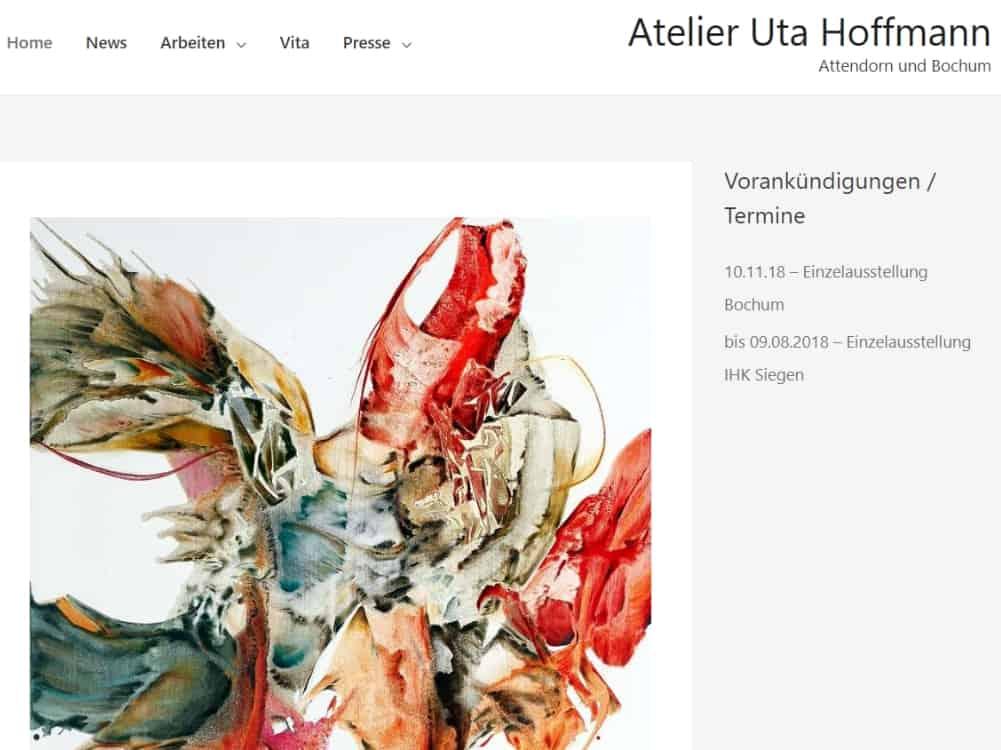 Atelier Uta Hoffmann - noch in Bearbeitung